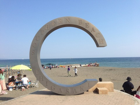 Chigasaki Beach for your Japan Travel images