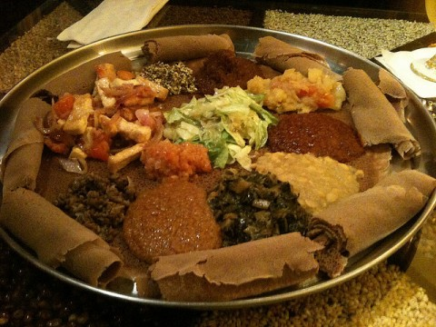 Ethiopian Food in Nakameguro images