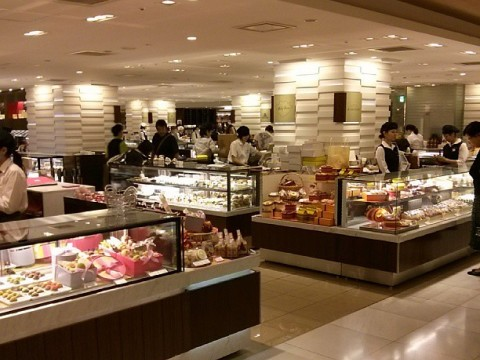 Japanese-style depachika food courts images