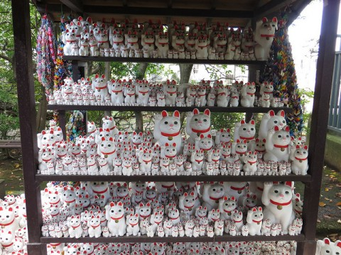 Gotokuji - Tokyo's Manekineko Lucky Cat Temple images