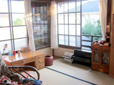 1920's Japanese life style house images