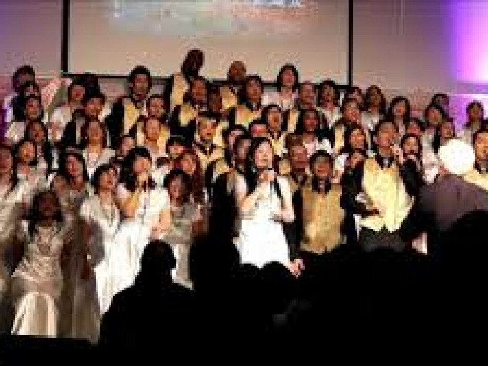 Joyous choir
