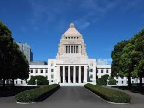 Enjoy a relaxing walk along Japan's famous Diet Building images