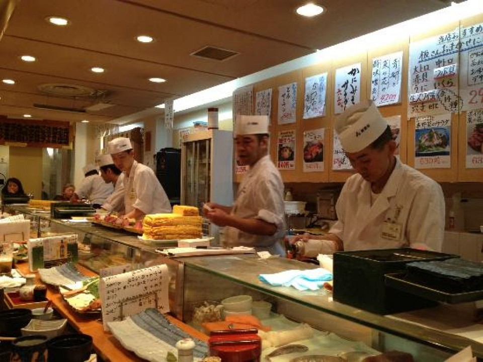 """Sushi-shokunin"" sushi masters at work"