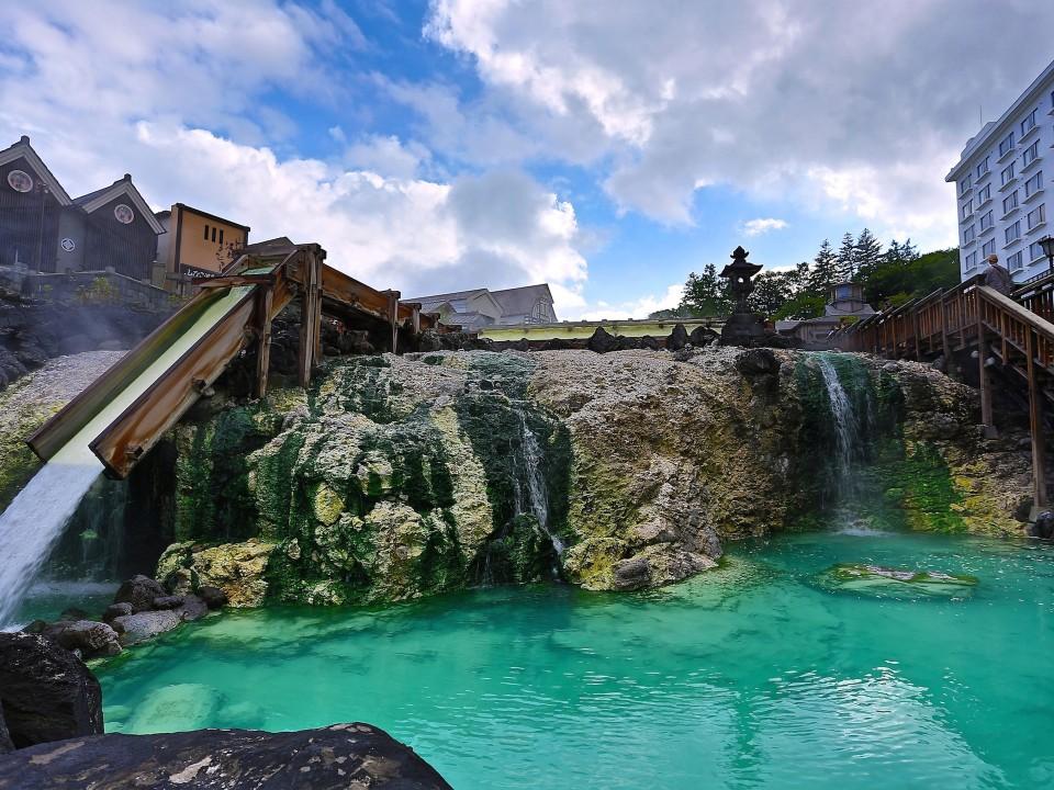 Kusatsu Hot Spring: Yubatake