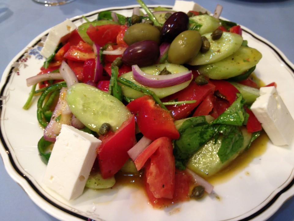 Sparta's Greek Salad