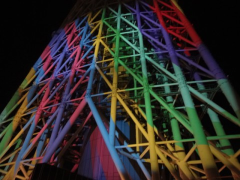 Tokyo Skytree Cake Factory - Projection Mapping at Dream Christmas 2014 images
