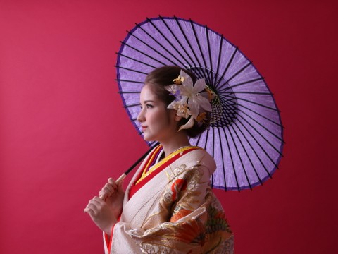 Be a princess during the feudal era in Authentic Japanese Kimono images