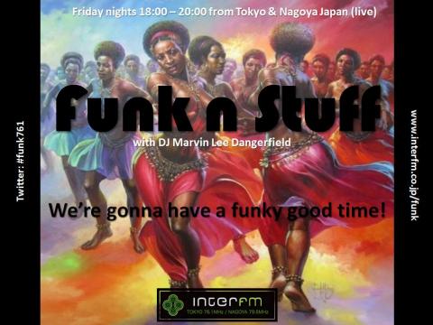 "InterFM: ""Funk 'n' Stuff"" with DJ Marvin live from Tokyo & Nagoya images"