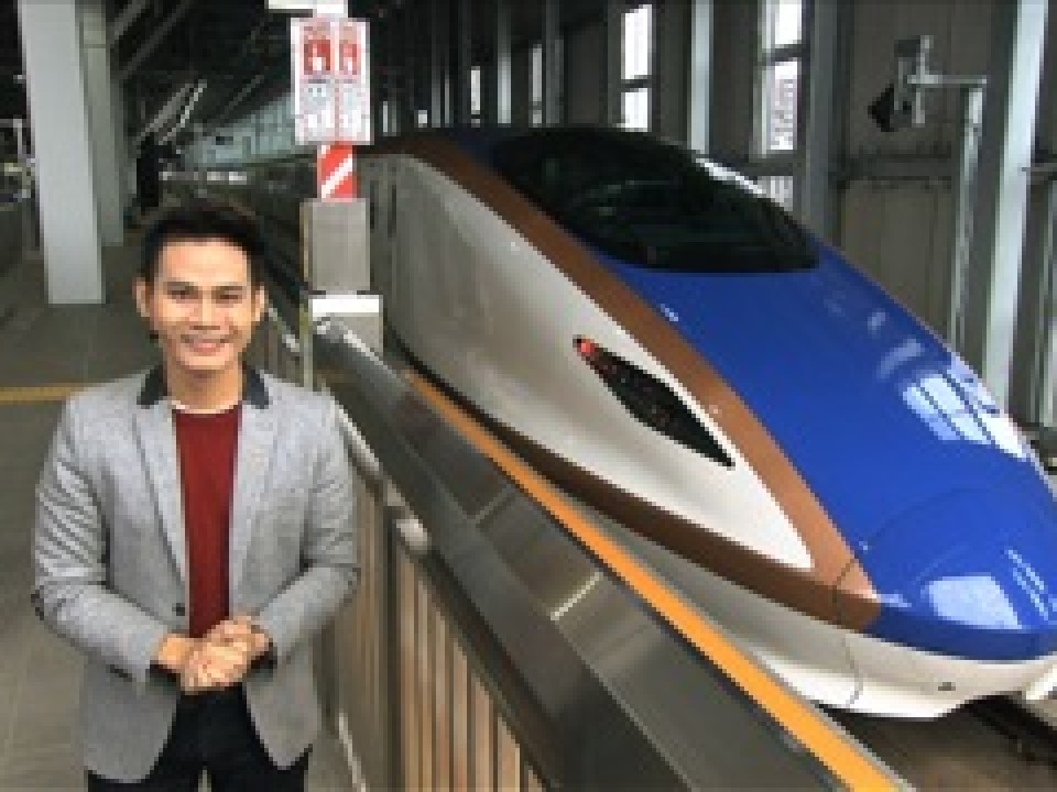 Take the Shinkansen
