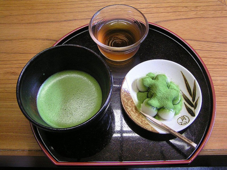 Matcha and Dango Set from Mitsuboshien Kanbayashisanyu