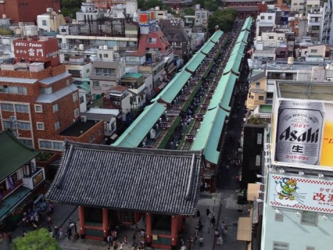 Nakamise, the main street of Asakusa between Kaminarimon and Hozomon images