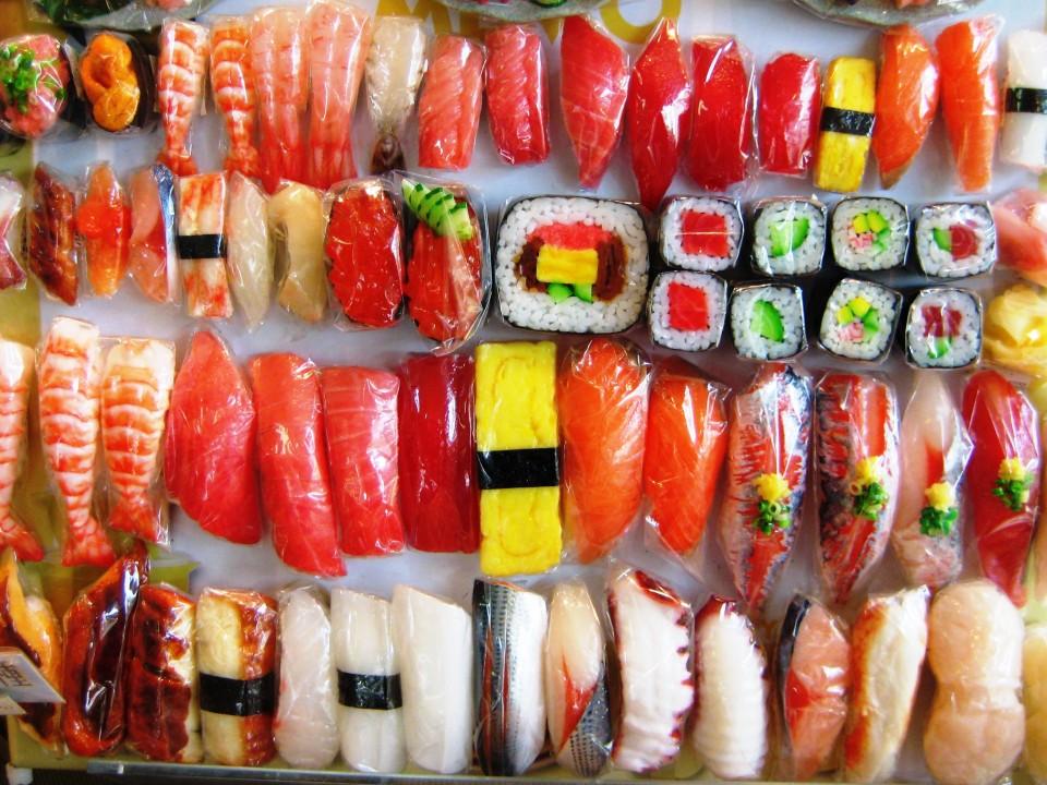 Sushi magnet.