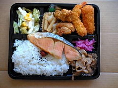 Bentos from 7-11, Ito Yokado, OK stores images