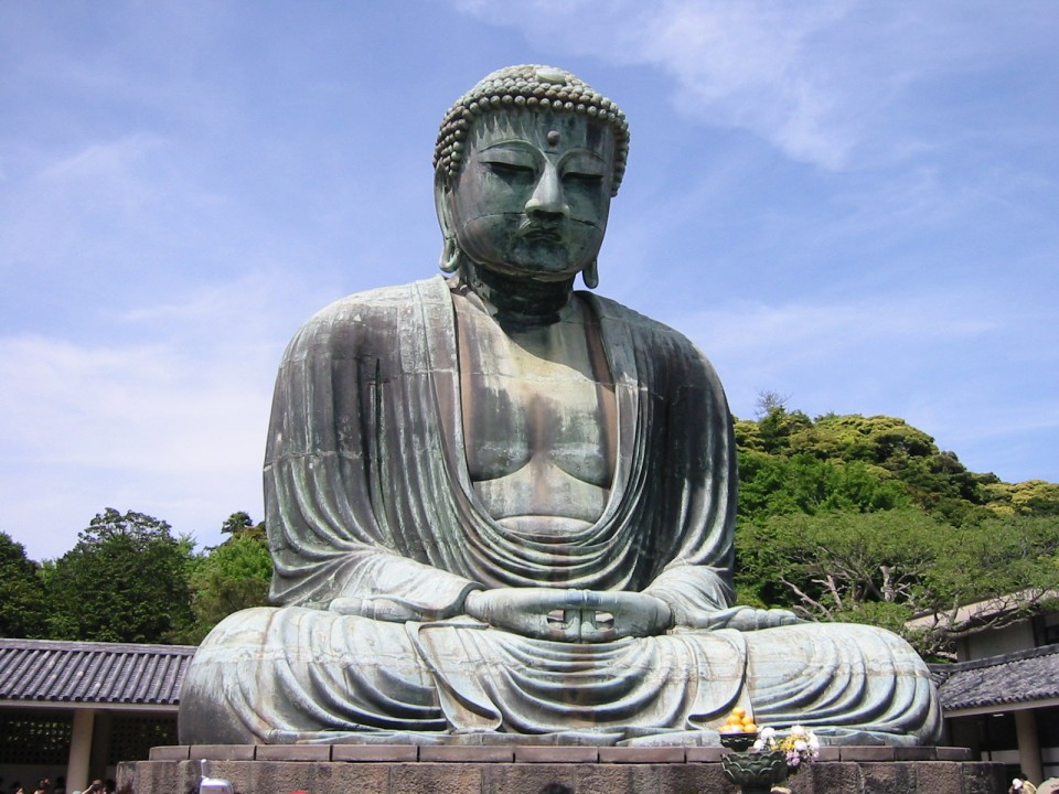 The Great Buddha - Daibutsu