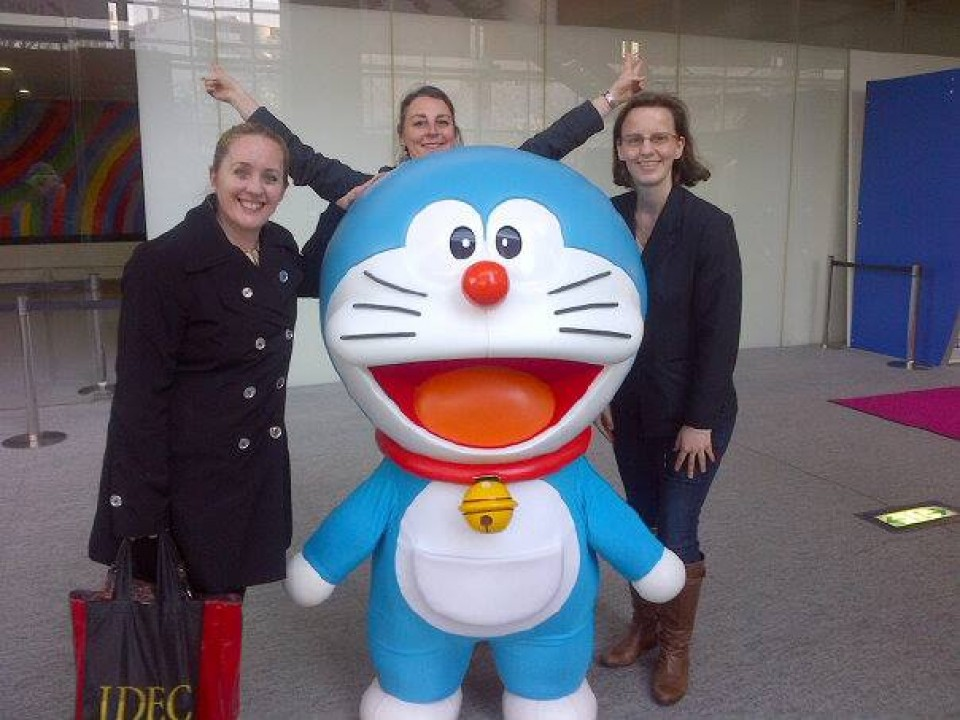 Meet Doraemon in Roppongi