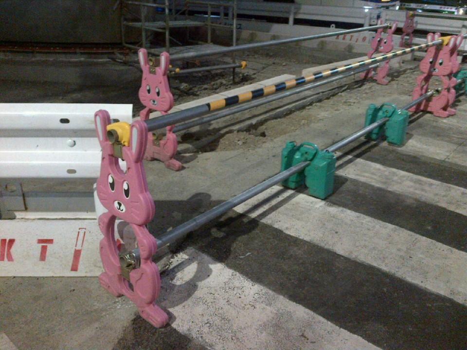 Pink Bunnies keep you safe