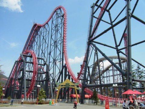 Are You a Roller Coaster Fanatic? Don't Miss Fujikyu Highland in Japan images