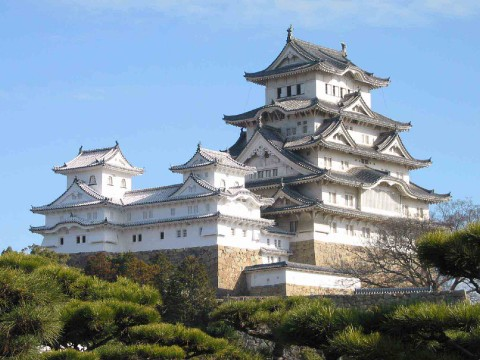 Home of the Emperor of Japan, Ornate Edo Castle images