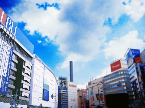 Ikebukuro is downtown. and.. images
