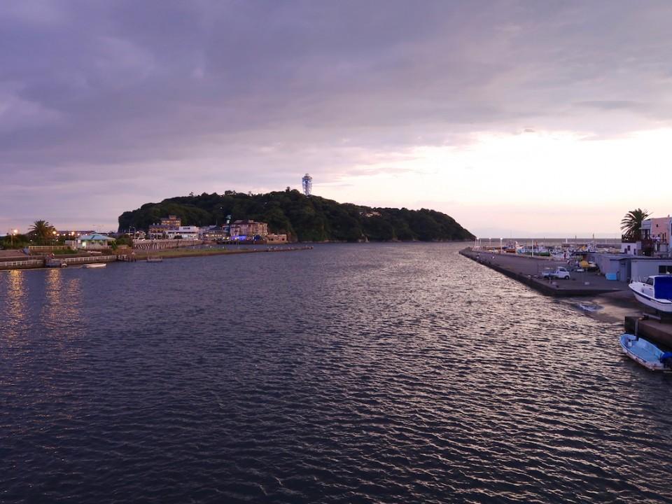 Enoshima Island near Kamakura