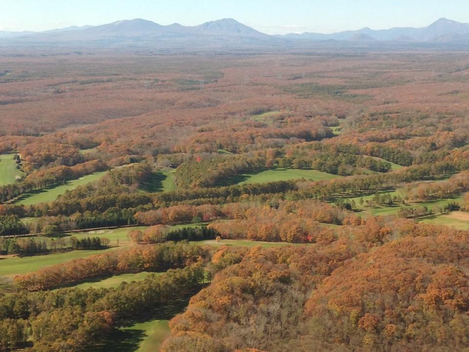 Fall Foliage in Hokkaido Japan