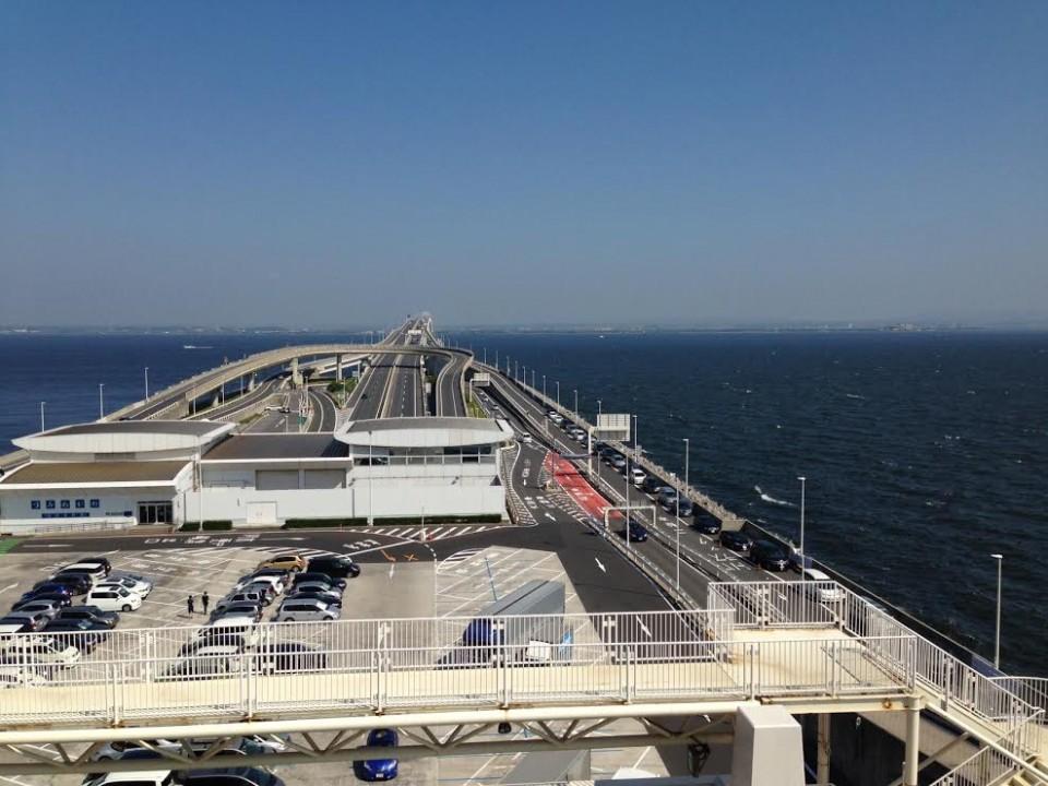 Looking toward Chiba.