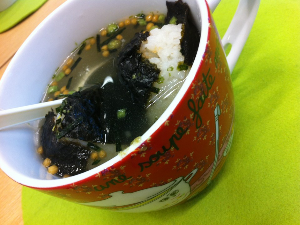 My chatsuke-cup