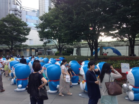 Doraemon in Roppongi Hills images