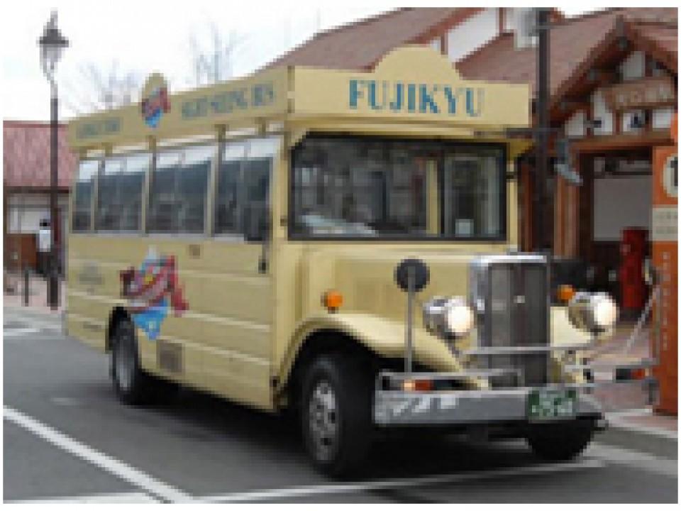 Kawaguchi/Saiko Area Tour Bus
