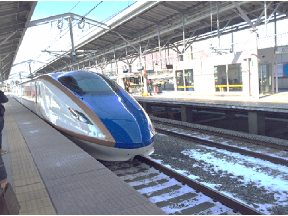 The New Hokuriku Shinkansen