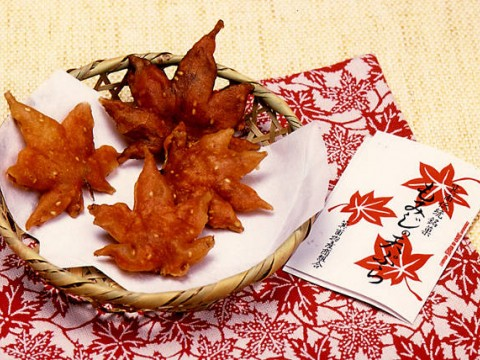 Maple Leaf Tempura in Osaka images
