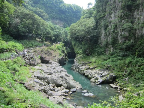 A beautiful gorge in Miyazaki images