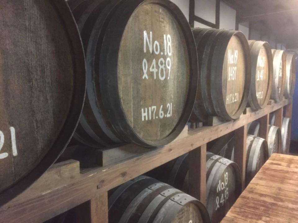 the Umegae Sake Brewery