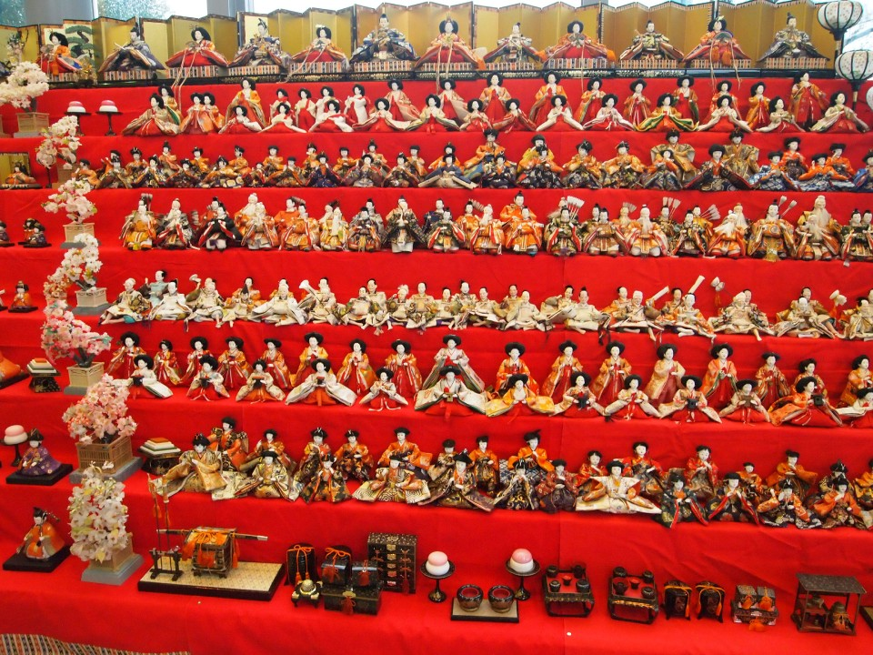 Large Hina Ningyoh Display