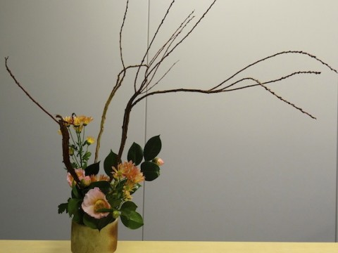 Difference of IKEBANA and Western floral arrangement? images