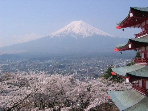 See Japan's iconic Mount Fuji images