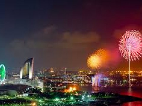 Yokohama Fireworks Show: Sparkling Twilight 2014 images