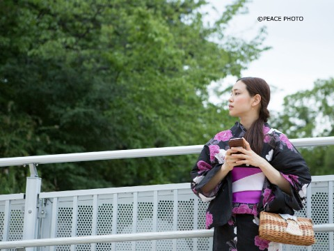 How to Enjoy Japanese Summer : Yukata images