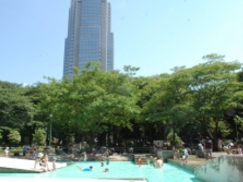 Summer in Shinjuku Chuo Park images