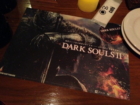 Dark Souls Cafe in Roppongi Until April images