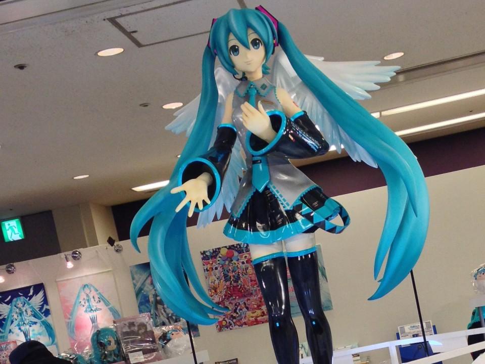 Miku Wing Statue