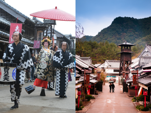 Wear a kimono and transform into a person from Japan's Edo period images
