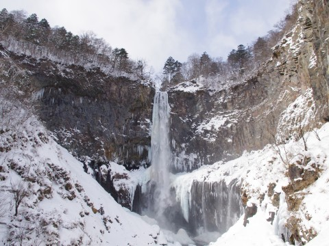 Observe a 97 meter waterfall up close and in person images