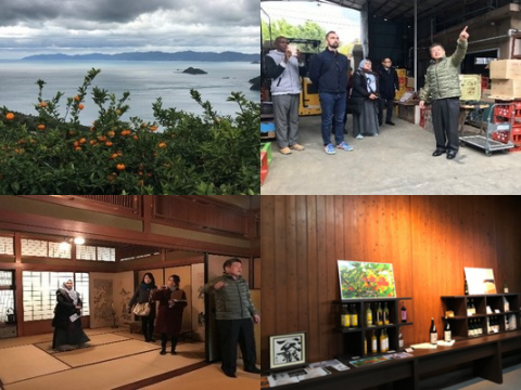 Tours of Sake breweries in Ehime images