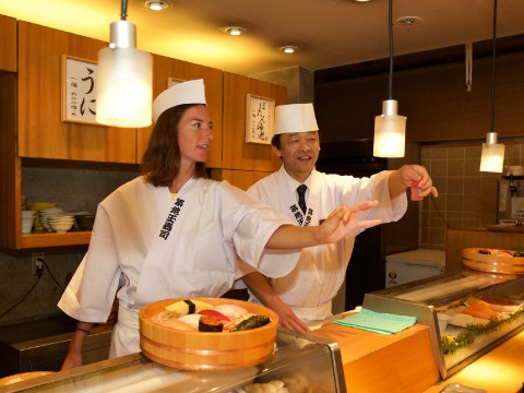 Connecting with your customers: what I learned watching a Sushi Master from Tama Sushi in Action images