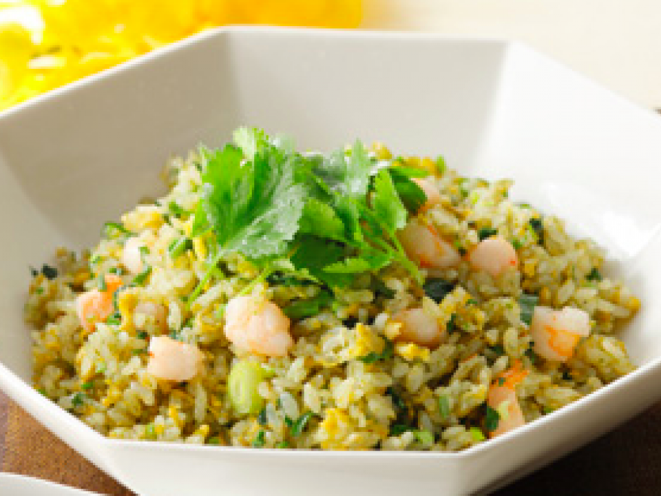Coriander Fried Rice