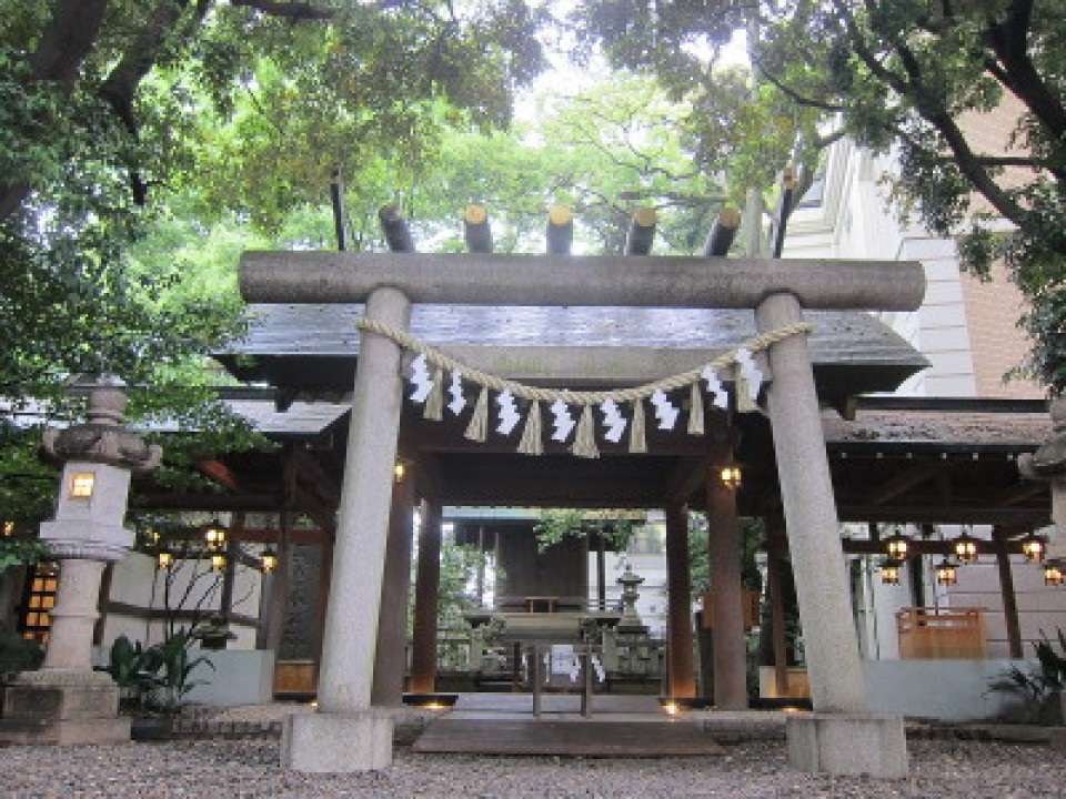 shrine to pray