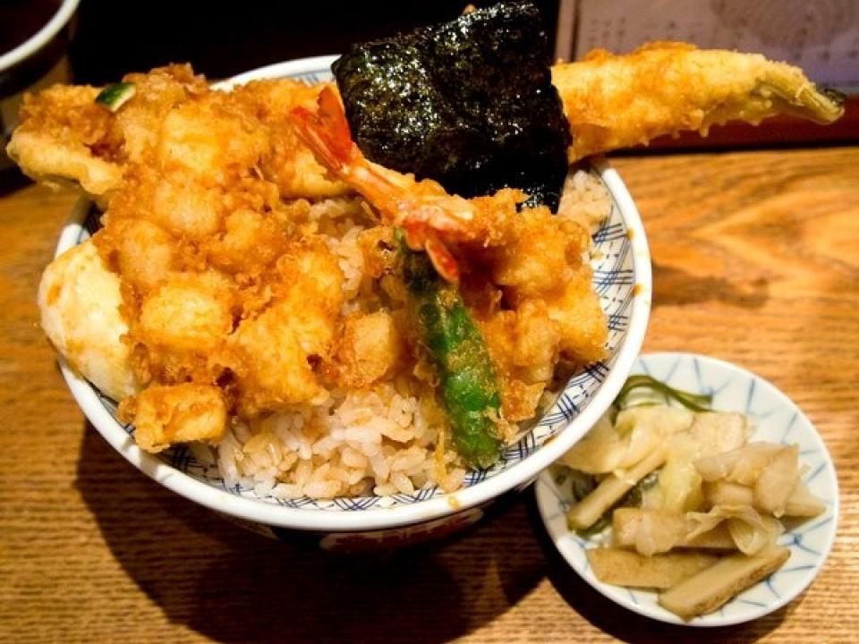 Tendon - 880 yen
