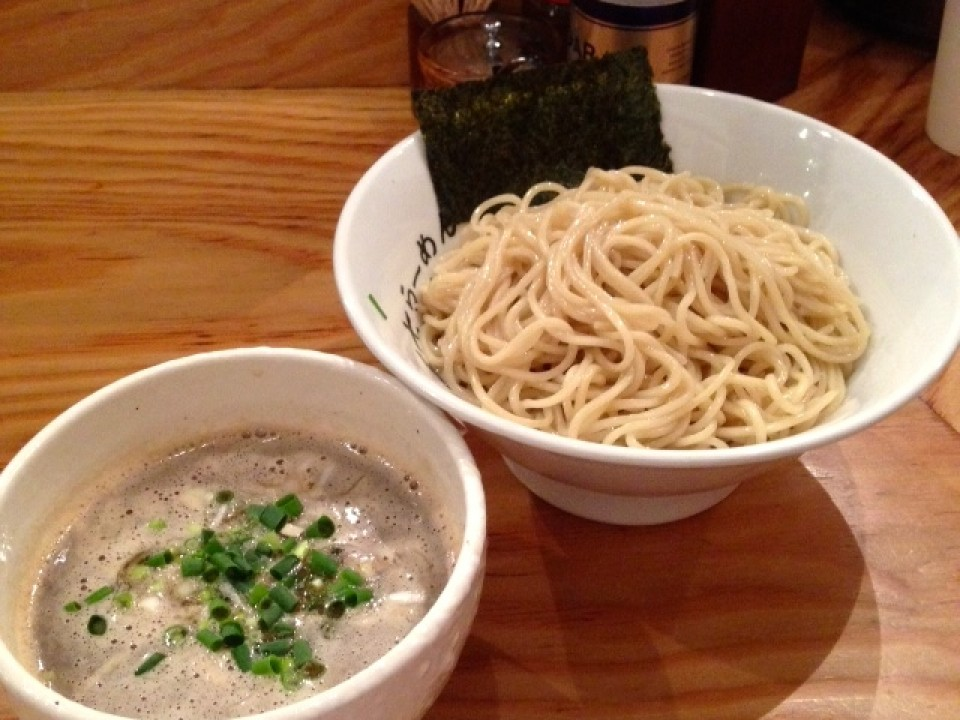 tsukemen with fresh noodles